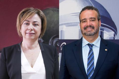 Rectores de la ULL y de la ULPGC. Canarias