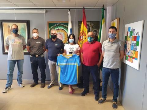 Presentación Campeonato de Canarias de Descenso Mountain Bike Teror. Gran Canaria