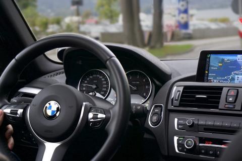 interior de coche