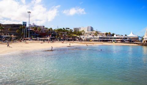 Playa de La Pinta, Adeje. Tenerife