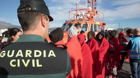Llegada de patera a Fuerteventura