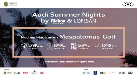 Audi Summer Nights by MAHOU & Lopesan