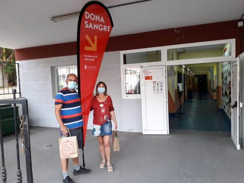 Donantes de sangre. Canarias