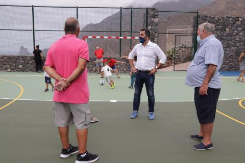 Polideportivo de Almáciga. Santa Cruz de Tenerife