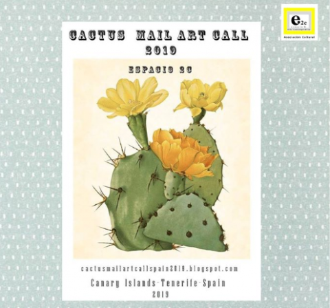 "Arte Postal ""Cactus"""