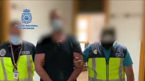 Detención de la Policía Nacional