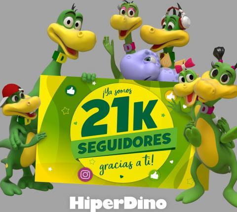 HiperDino 21K en Instagram