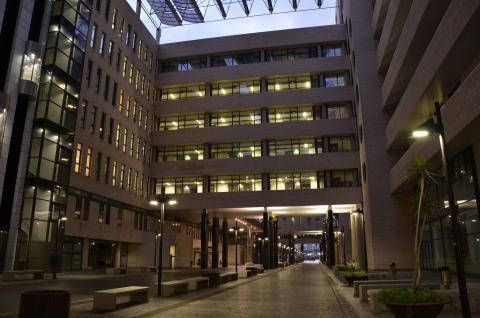 Hospital Dr. Negrín. Gran Canaria