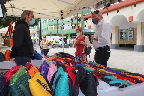 Mercadillo de artesanía. Las Palmas de Gran Canaria