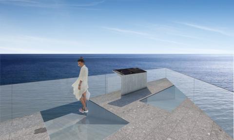 Infografía Mirador del Balcón. La Aldea. Gran Canaria