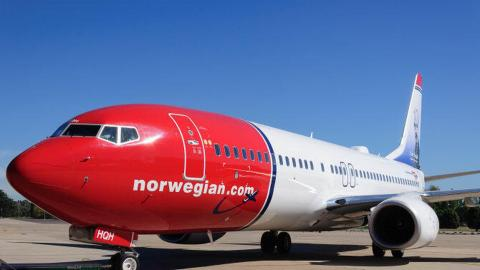La aerolínea Norwegian retoma este sábado sus operaciones en Canarias