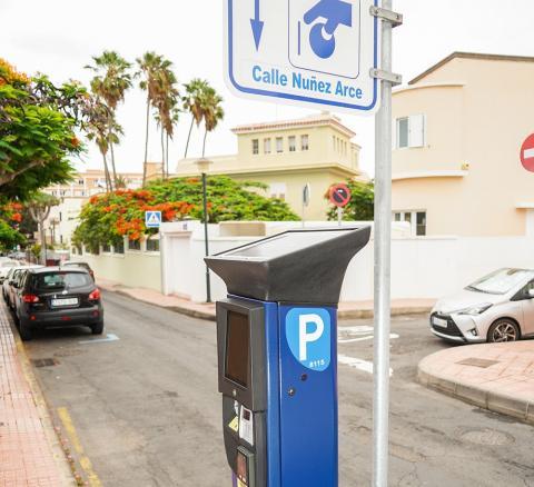 Parquímetro. Las Palmas de Gran Canaria
