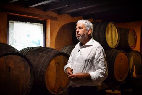 Pedro Suárez, presidente DO Vinos de Gran Canaria