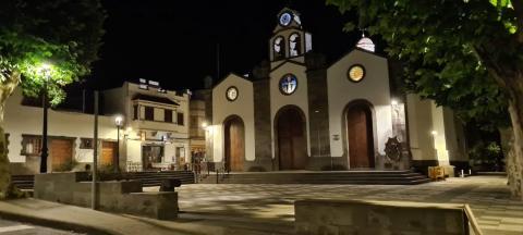 Iluminación Valleseco. Gran Canaria