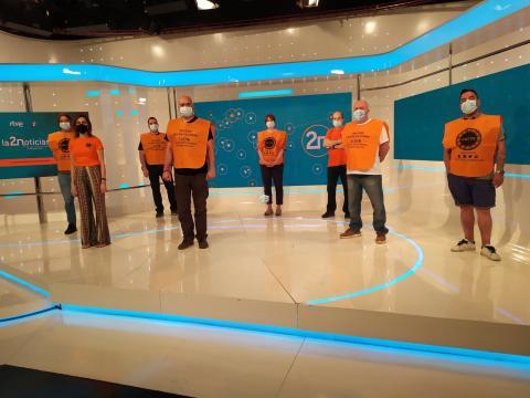 Protesta de RTVESinPersonal y SinProducciónPropia Interna
