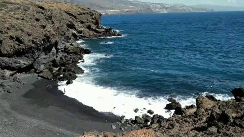 Playa Samarines. La Candelaria. Tenerife