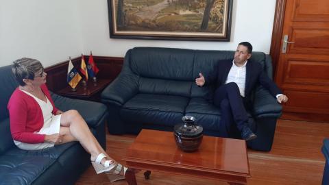Héctor Suárez y María de la Salud Gil. Telde