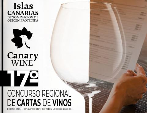 XVII Edición del Concurso Regional de Cartas de Vinos. Canarias