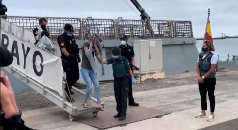 Detenidos en Las Palmas de Gran Canaria