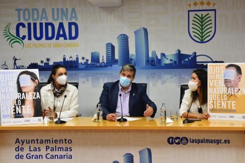 Campaña de sensibilización del uso responsable de las mascarillas. Las Palmas de Gran Canaria