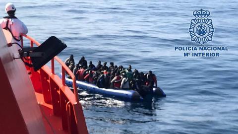 Pateras. Inmigración. Salvamento marítimo