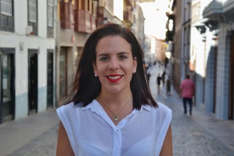Melissa Hernández. Santa Cruz de La Palma