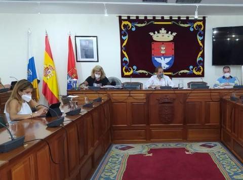 Pleno del Ayuntamiento de Arrecife. Lanzarote