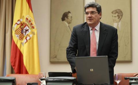 José Luis Escrivá. Ministro de Migraciones
