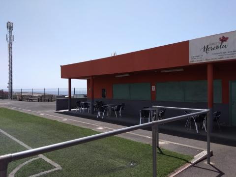Campo de Fútbol de Agua Dulce en Guía de Isora. Tenerife