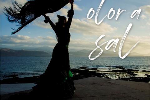 "Cartel de ""Olor a sal"" de Rocío Pozo"