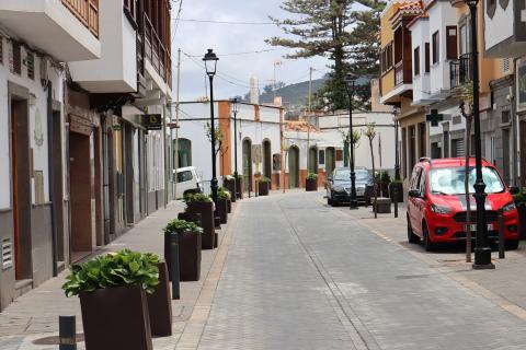 Calle de Moya. Gran Canaria