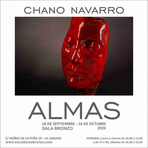 "Exposición ""Almas"" de Chano Navarro Betancor en Espacio Bronzo, La Laguna. Tenerife"