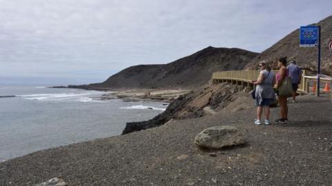 El Confital. Las Palmas de Gran Canaria
