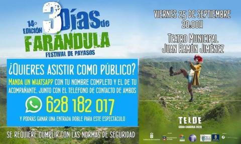 Festival de Payasos Farándula en Telde. Gran Canaria