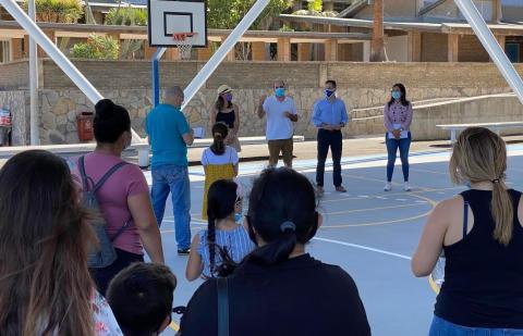 Campamento del distrito Salud-La Salle. Santa Cruz de Tenerife