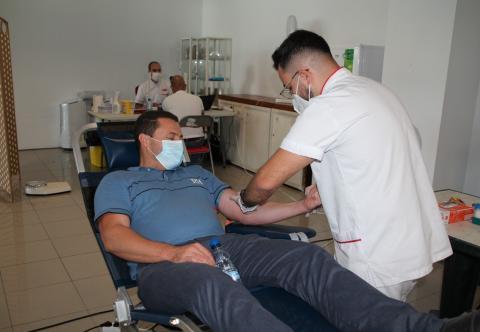 Donación de sangre en Yaiza
