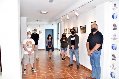 Inauguración de la exposición 'Cómic y Fanzine en Canarias' en el Teatro Juan Ramón Jiménez de Telde