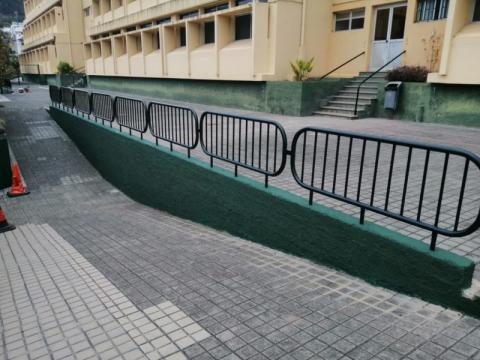 El Ayuntamiento de Teror realiza mejoras en las instalaciones en los colegios