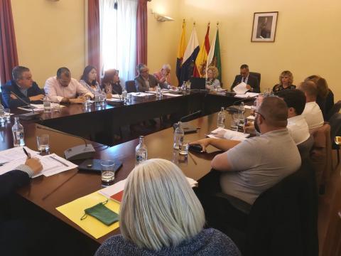 Pleno del Ayuntamiento de Santa Brígida