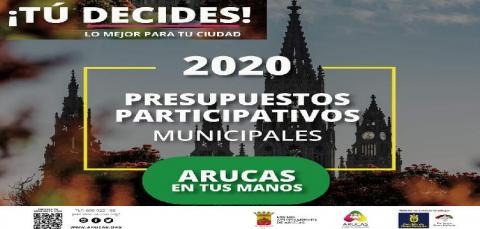 Presupuestos participativos 20/21 de Arucas. Gran Canaria