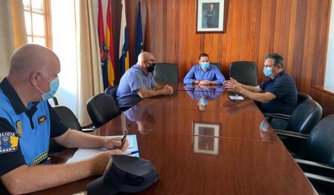 Reunión de coordinación para la vuelta al cole en Telde. Gran Canaria