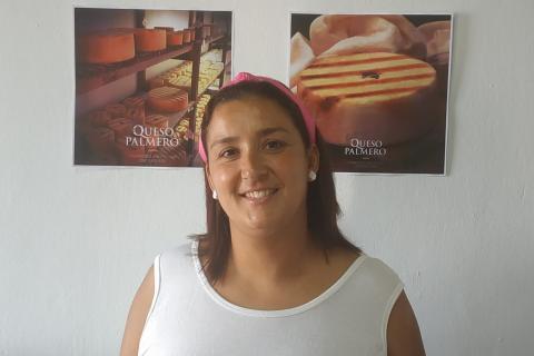 Saray Domínguez presidenta del CRDOP Queso Palmero