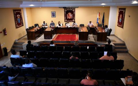 Pleno del Ayuntamiento de Mogán. Gran Canaria