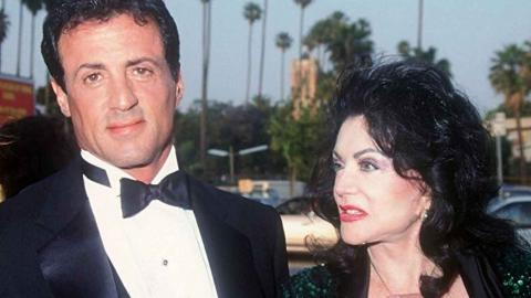 Sylvester y Jackie Stallone
