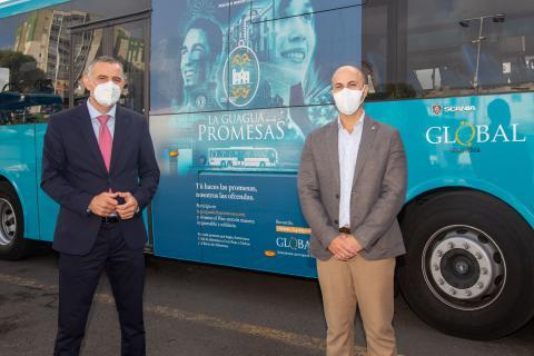 HiperDino se suma al proyecto solidario 'La Guagua de las Promesas' de Global