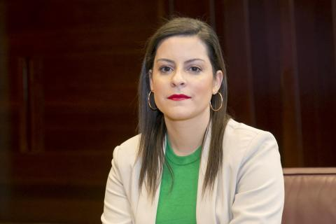 Yaiza Castilla, consejera de Turismo de Canarias