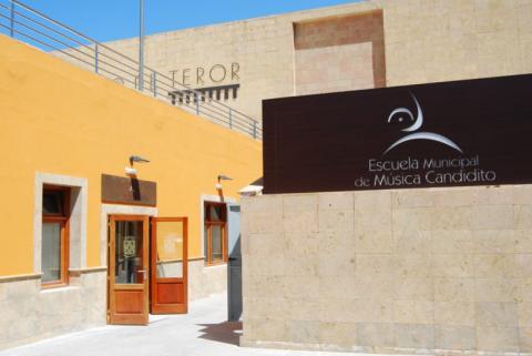 """Escuela Municipal de Música """"Candidito"""" de Teror. Gran Canaria"""