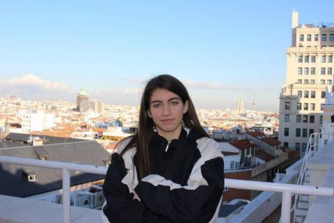 La rapera canaria Sara Socas