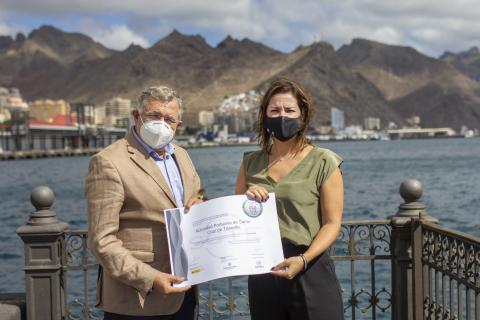 La Sociedad de Desarrollo distingue a la Autoridad Portuaria en el marco del SICTED