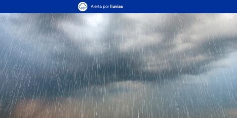 Canarias declara la alerta por lluvias